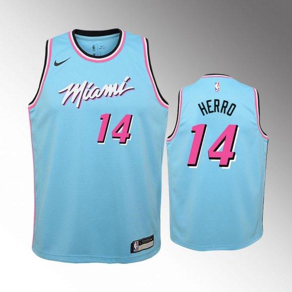 Nba Shirts Youth Miami Heat 14 Tyler Herro Jersey Poshmark